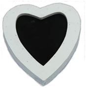 small chalkboard heart to hire