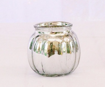 silver tealight to hire