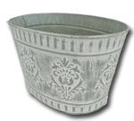 silver planter to hire