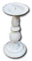 metal candlestick to hire