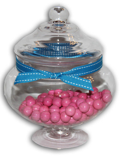 candy jar to hire