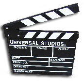 clapper board large to hire