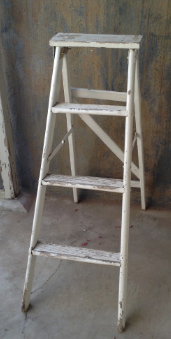 shabby chic ladder Large