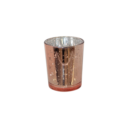 rose gold tealight to hire