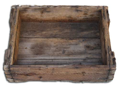 vintage crate to hire