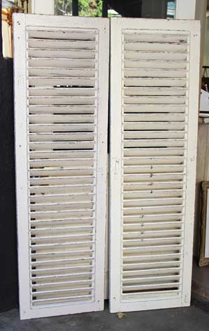 shutters to rent